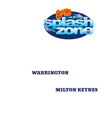 Gullivers SplashZone, Warrington and Milton Keynes